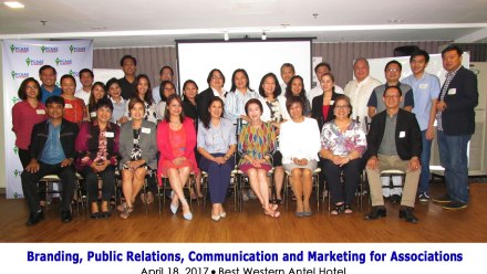 PCAAE conducts CPAE seminar on branding, PR, communications and marketing