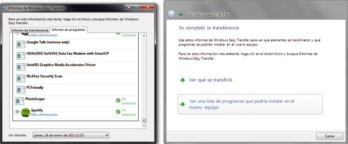 Práctico Windows Easy Transfer 6