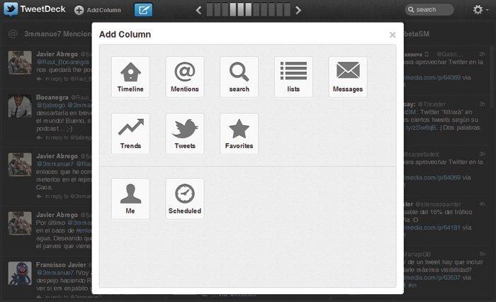 Twitter con TweetDeck y HootSuite 4