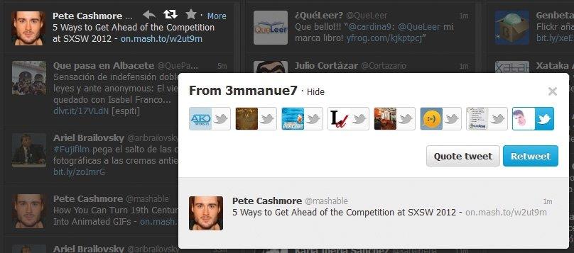 Twitter con TweetDeck y HootSuite 6