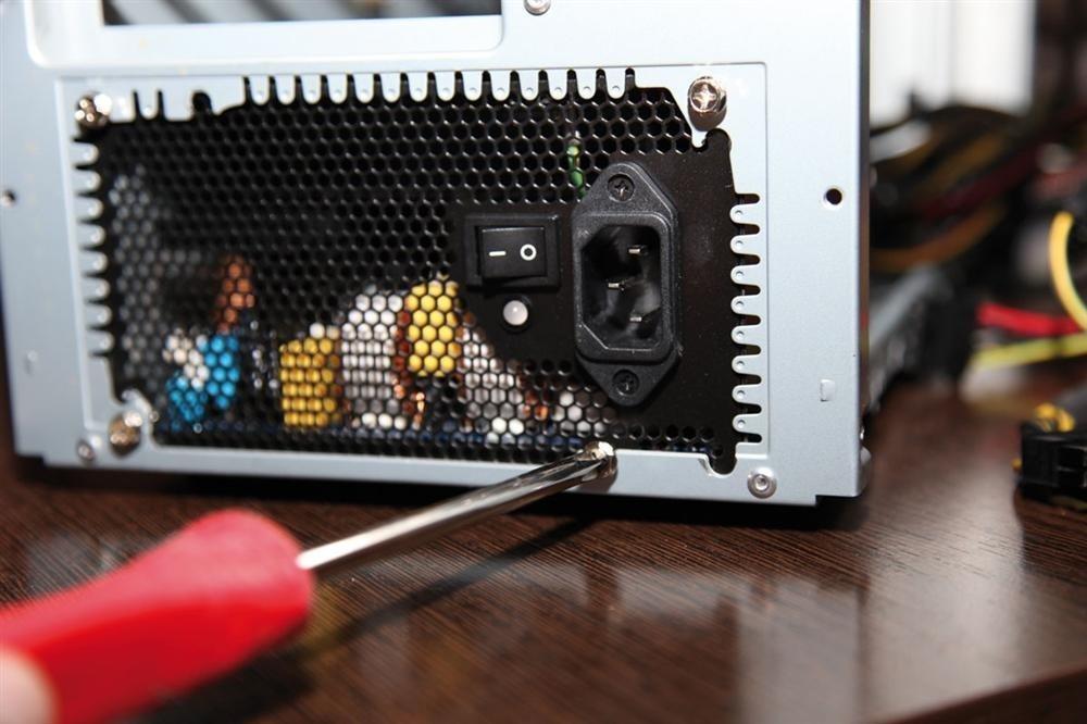Resultado de imagen de montaje ordenador fuente alimentacion