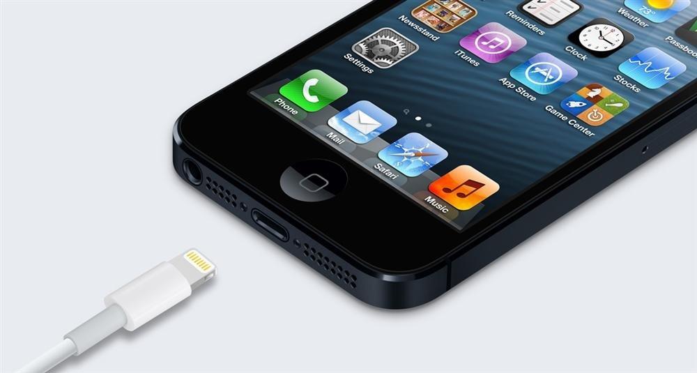 iPhone 5-detalle Lightning
