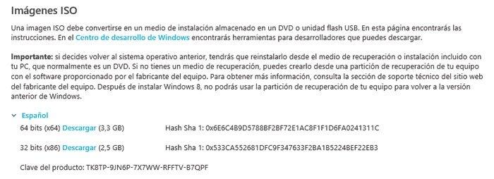 Implanta Windows 8 en una unidad virtual 1