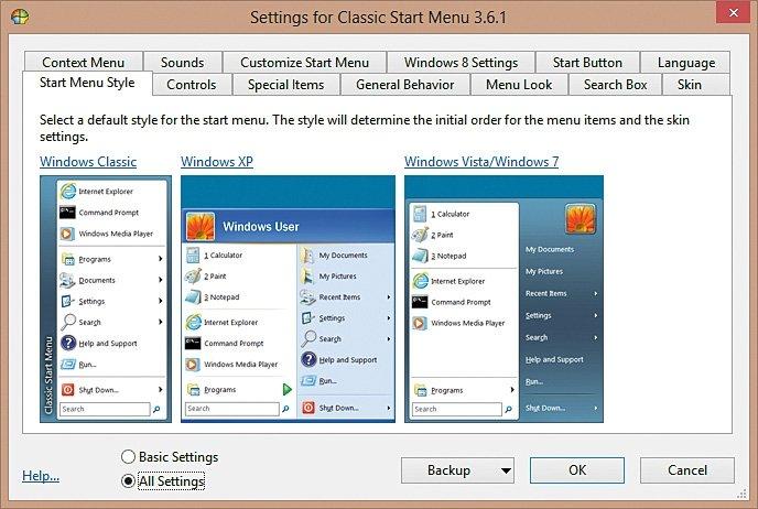 botón de Inicio a Windows 8 2