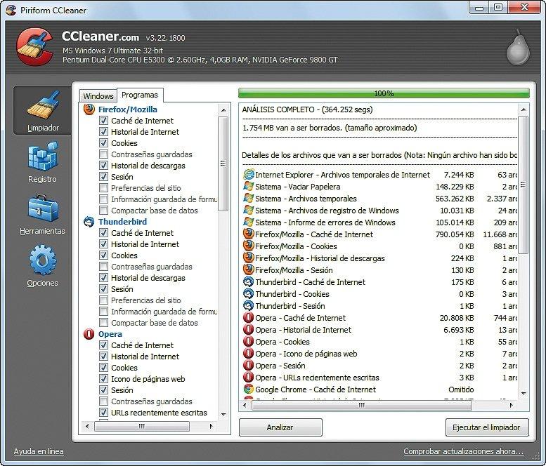 Ahorra espacio en tu disco duro 9