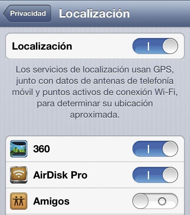 Localización en iOS