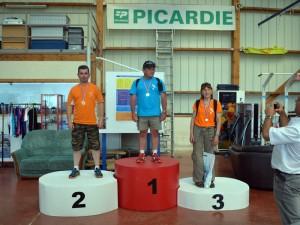 Podium en Précision d'Atterrissage Individuel au Championnat de Picardie 2015 à Frétoy-le-Château