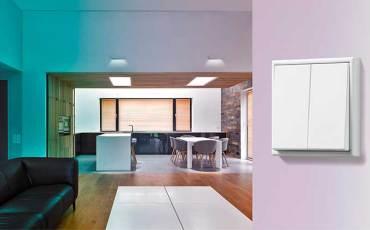 Nuevos emisores murales con Bluetooth LE  JUNG