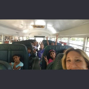 Dojo bus selfie