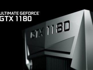 Nvidia Turing GTX 1180