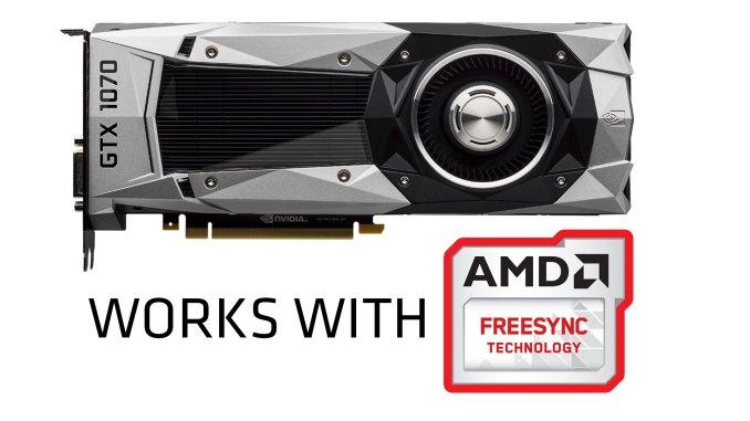 Nvidia GeForce works with FreeSync