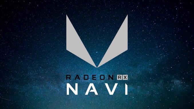 AMD Radeon RX Navi Logo Mockup