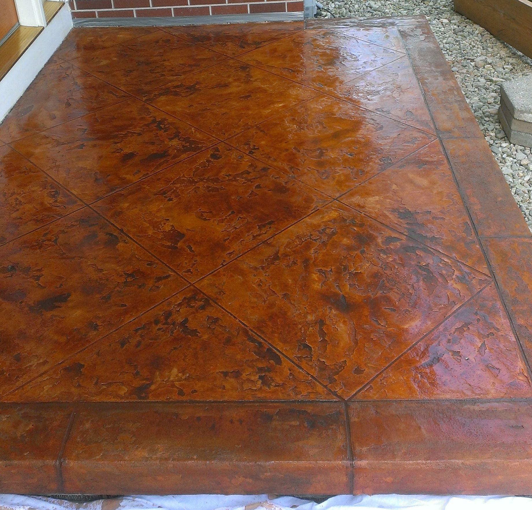 Concrete Flooring Tuscan Slate Columbus Ohio