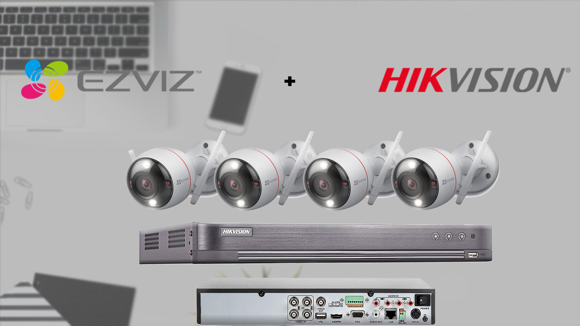 hik+ezviz wireless outdoor