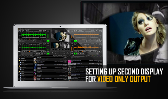 DEX 3 DJ Software Tutorial Video: How To Setup Second Display for