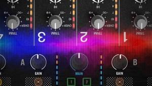 Gain on DJ mixer