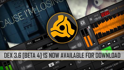 DEX 3.6 Video Mixing Software Beta 4