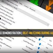 Beat-Matching During Auto-mix demo video