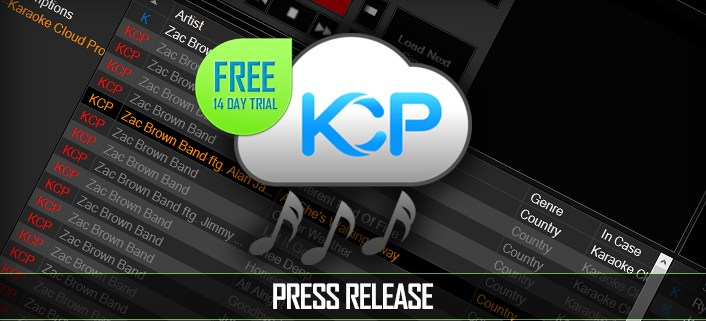 Karaoke Cloud Pro Press Release - 14-Day Free Trial