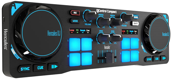 Image result for Hercules DJControl Compact Controller