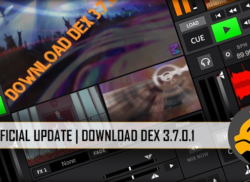 Update to DEX 3.7.0.1 Video Mixing Software