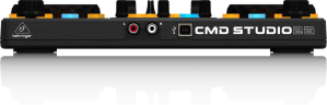 CMD Studio 4A DJ controller rear view