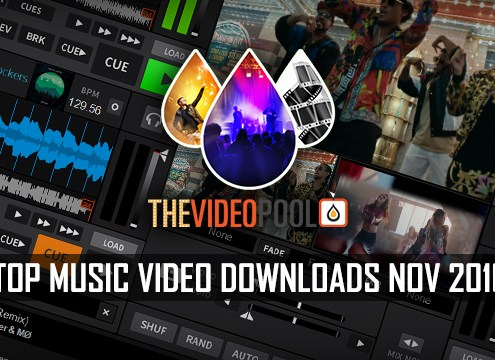 Top 40 Music Video Downloads November 2016