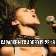 20 Karaoke Hits Added To Karaoke Cloud Pro 12-28-16