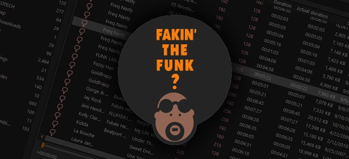 Fakin' The Funk DJ utility