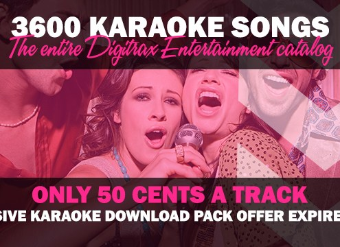 Download 3600 karaoke songs