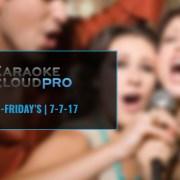 Karaoke Subscription Service Update 7-17-17