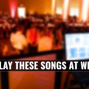 Songs not to play at weddings