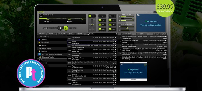 LYRX Karaoke Software for MAC Update V1.1