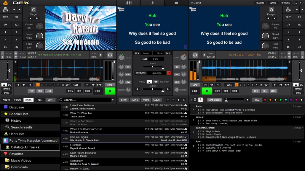 DEX 3 DJ and Video Mixing Software for Pro DJs | PCDJ