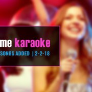 New karaoke download 2-2-18