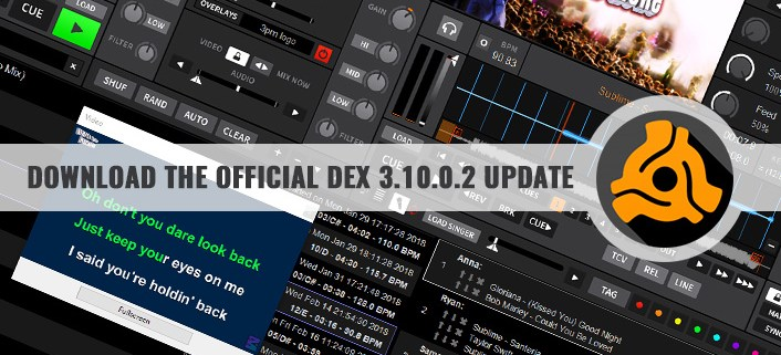 DJ Software Update | Download The Official DEX 3 10 0 2
