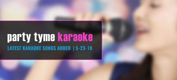 karaoke subscription update 5-23-18