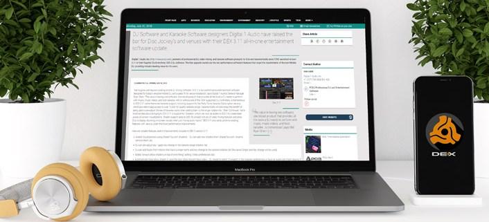 DEX 3.11 DJ software press release