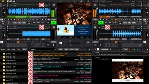 DEX 3 DJ Software with Shader Support