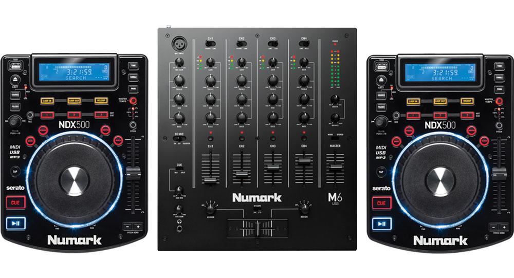 Numark NDX500 DJ controllers Setup