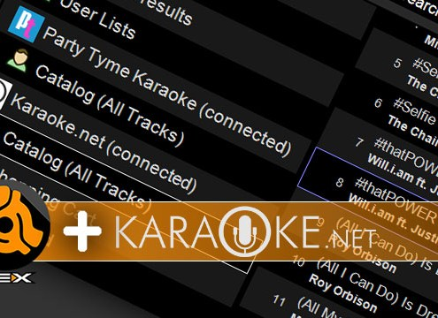 DEX 3 with Karaoke.net Support