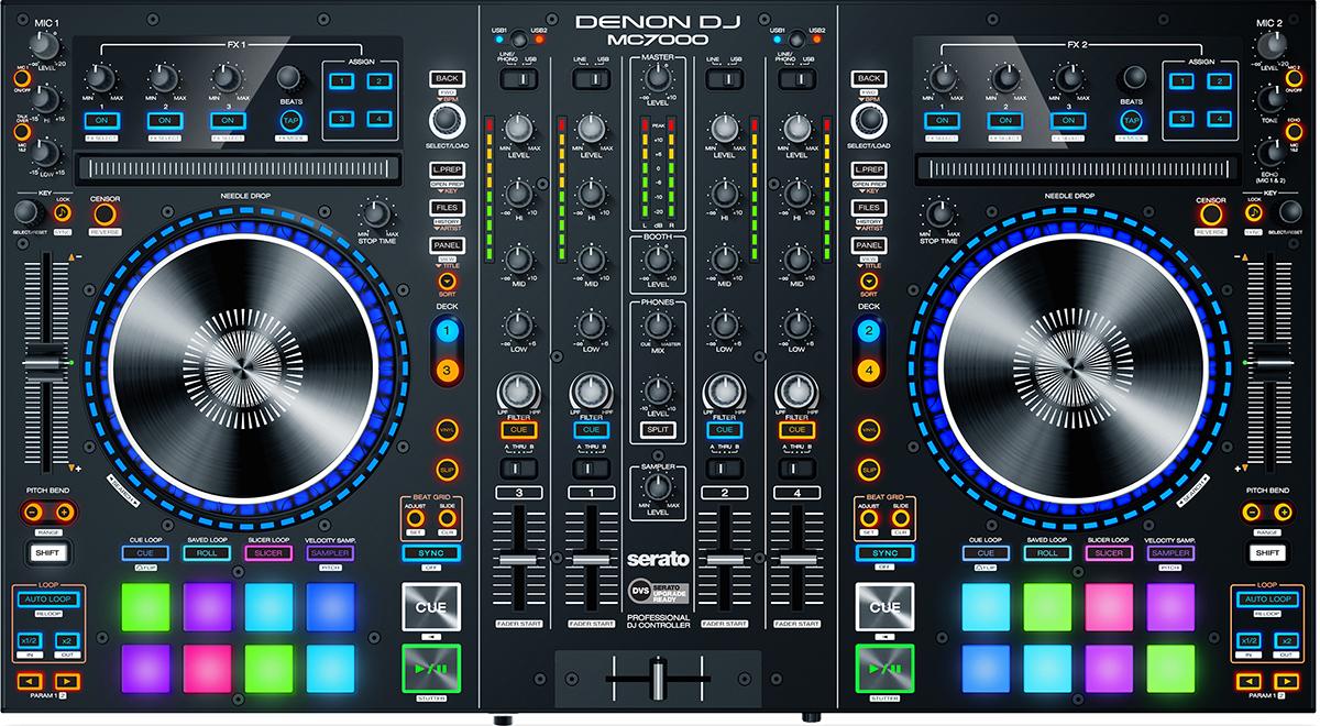 Denon DJ MC7000 top for karaoke