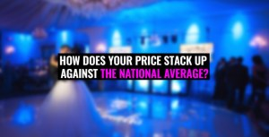 Average cost of a Wedding DJ 2019