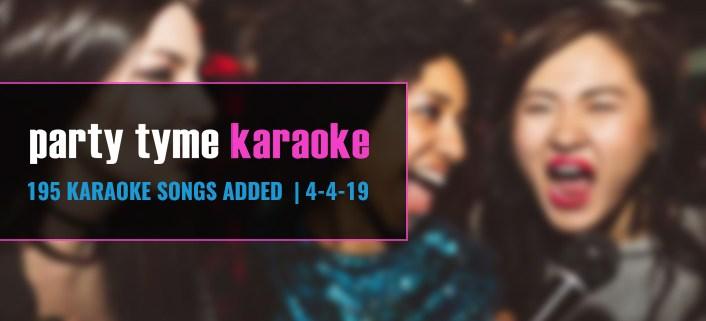 new karaoke songs added to karaoke subscription
