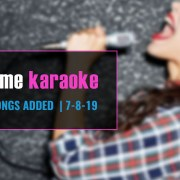 New hit karaoke songs from Party Tyme