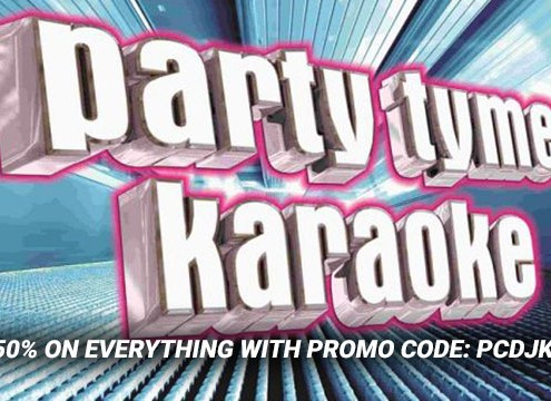 Sale on karaoke songs