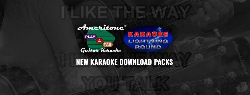 Guitar Karaoke and Lightning Round Karaoke Packs