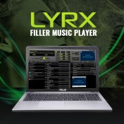 LYRX filler music player