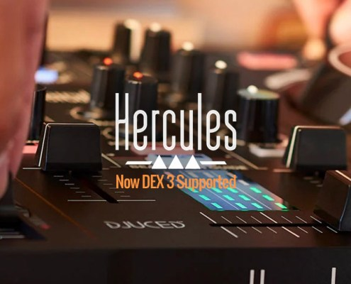 Hercules DJControl Inpulse 300 DEX 3 Support