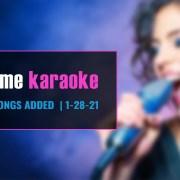 professional karaoke subscription new songs